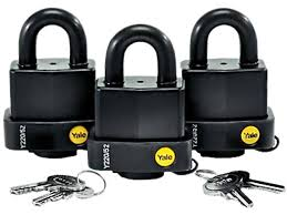 weather proof padlocks